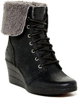 UGG Zea Waterproof Genuine Shearling Lined Wedge Boot