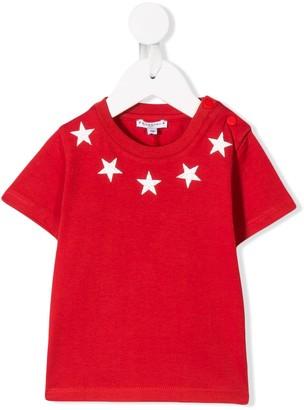 Givenchy Kids star print top