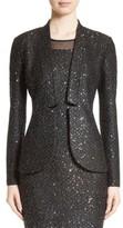 St. John Women's Pranay Sequin Knit Jacket