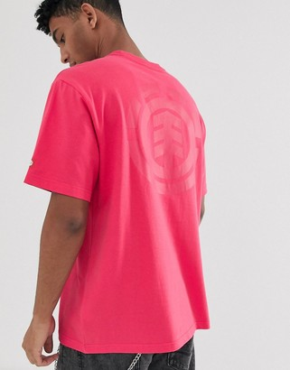 Element Primo Icon t-shirt in pink