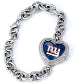 Game Time NFL Women's NFL-HEA-NYG Heart Collection New York Giants Watch