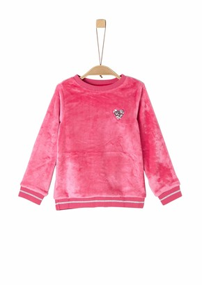 S'Oliver Girls' 53.909.41.2532 Sweatshirt