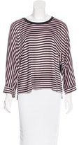Stella McCartney for Adidas Striped Long Sleeve Top