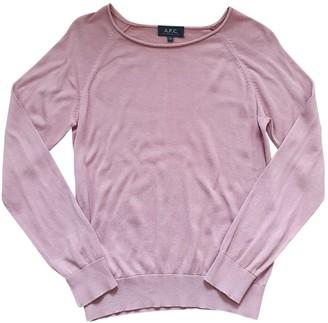 A.P.C. Pink Knitwear for Women