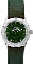 Alviero Martini Prima Classe Women's PCD 925S/ZZ Green Globe Print Green Dial Crystal Watch
