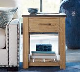 Pottery Barn Parker Reclaimed Wood Side Table