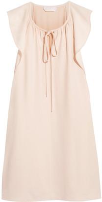 Chloé Bow-detailed Cady Mini Dress