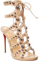 Christian Louboutin Amazoubille 120 Leather Sandal