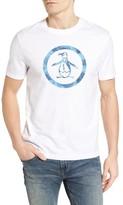 Original Penguin Men's Palm Tree Circle Graphic T-Shirt