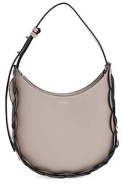 Chloé Women's Small Darryl Braided Leather Hobo Bag