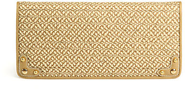 Eric Javits Squishee Woven Envelope Clutch