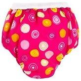 Kushies Taffeta Waterproof Training Pants, Small, Crazy Circles Pink by