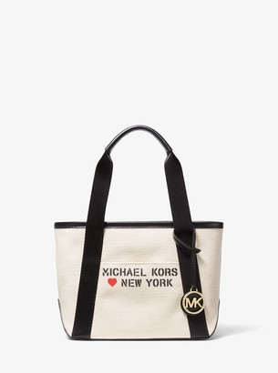 MICHAEL Michael Kors The Michael Small Canvas New York Tote Bag