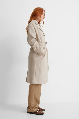 NA-KD Classic Belted Coat