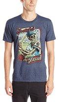 Liquid Blue Men's Grateful Dead-GD On Deck T-Shirt