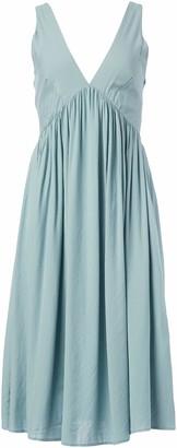 Somedays Lovin Women's Miles Away Chambray Midi Dress