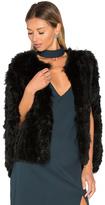 Elliatt Treasure Rabbit Fur Cape