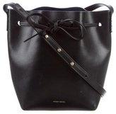 Mansur Gavriel Leather Mini Bucket Bag