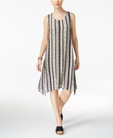 Style&Co. Style & Co Striped Shift Dress, Only at Macy's