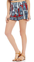 Patrons Of Peace Paisley-Print Lace-Up Tassel-Tie Soft Shorts