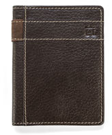 Haggar Pebble Carryall Leather Wallet