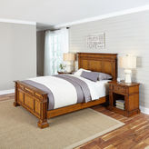 Asstd National Brand Lexington Bed and 2 Nightstands