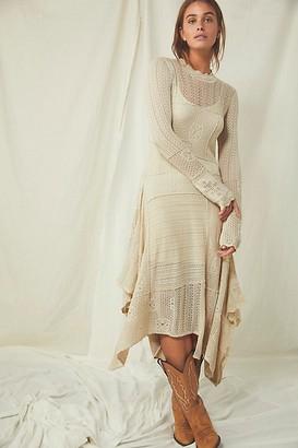 Free People Snowflake Sweater Dress