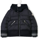 Moncler wool-trimmed padded coat