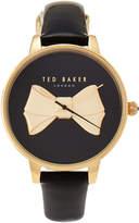 Ted Baker TE50378002 Gold-Tone & Black Watch