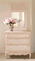 The Well Appointed House Hand Painted French Chest in Versailles Pink