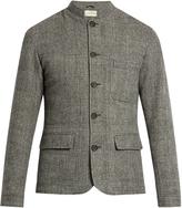 Oliver Spencer Coram Dudley Mandarin-collar wool jacket