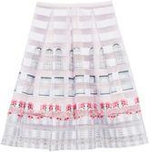Ted Baker Niica Burnout Window Box skirt