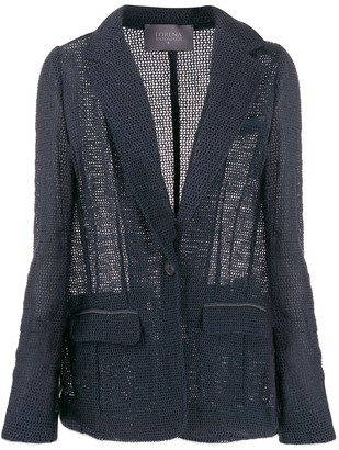 Lorena Antoniazzi Crocheted Fitted Jacket