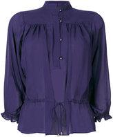 Just Cavalli button up blouse - women - Viscose - 38