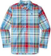 Ralph Lauren Poplin Shirt, Big Girls (7-16)