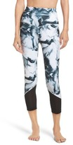 Zella Women's Gemini High Waist Crop Leggings