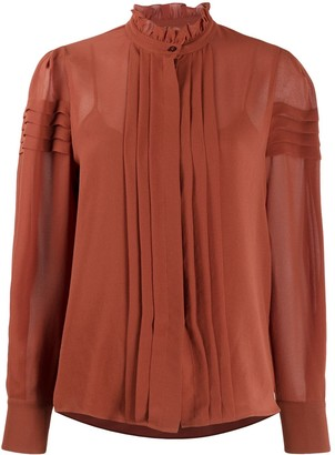 See by Chloe Puff-Shoulder blouse