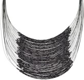 Linea By Louis Dell'olio by Louis Dell'Olio Twisted Bugle Bead Necklace
