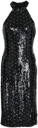 Alice + Olivia Embellished Tulle Dress