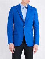 Alexander McQueen Single-breasted wool jacket