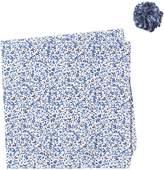 Original Penguin White Floral Pocket Square & Lapel Pin Set
