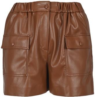 MSGM High-Waisted Pocket Shorts