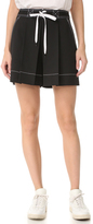 Alexander Wang High Waisted Shorts