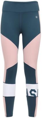 Asics Color Block Crop Leggings