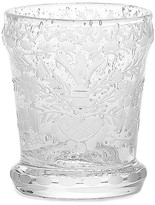 Oscar de la Renta Heart Etched Glass Tumbler