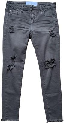 IRO Spring Summer 2019 Green Cotton - elasthane Jeans