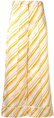 Racil candy striped trousers
