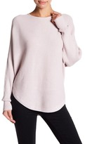 Boulevard Hi-Lo Ribbed Texture Sweater