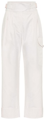 See by Chloe High-rise cotton cargo pants