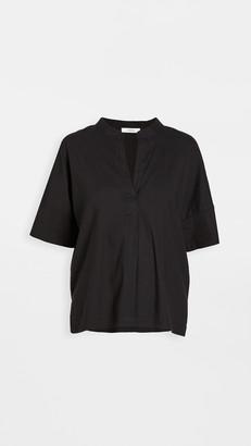 Vince Short Sleeve Linen Popover Shirt